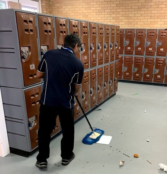 Cleaning School Locker Perth